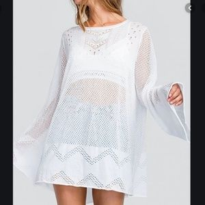 NWT Wildfox Clean Taylor Pullover Tunic Sweater